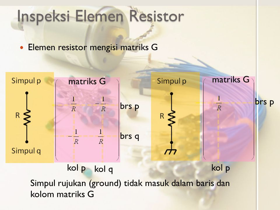 Inspeksi Elemen Resistor