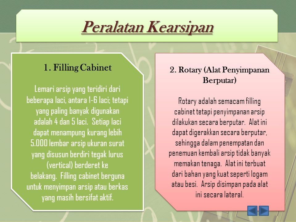 2. Rotary (Alat Penyimpanan Berputar)