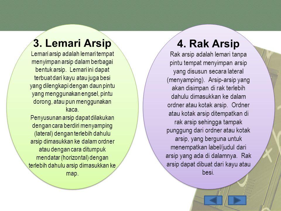 3. Lemari Arsip