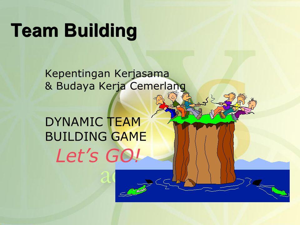 Team Building Let's GO! DYNAMIC TEAM BUILDING GAME