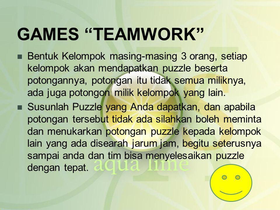 GAMES TEAMWORK