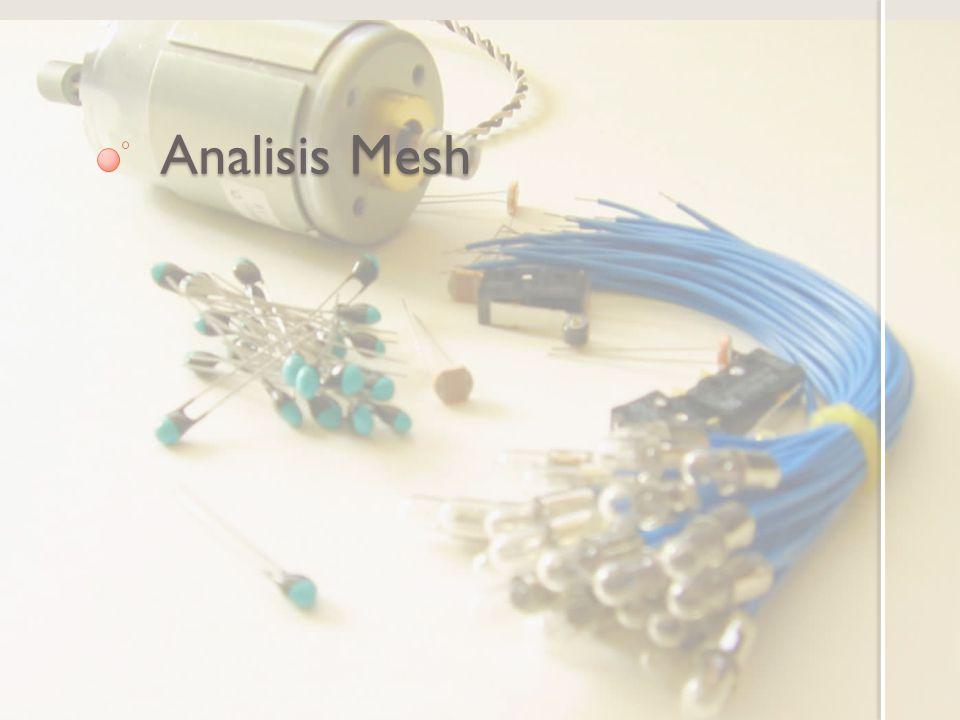 Analisis Mesh