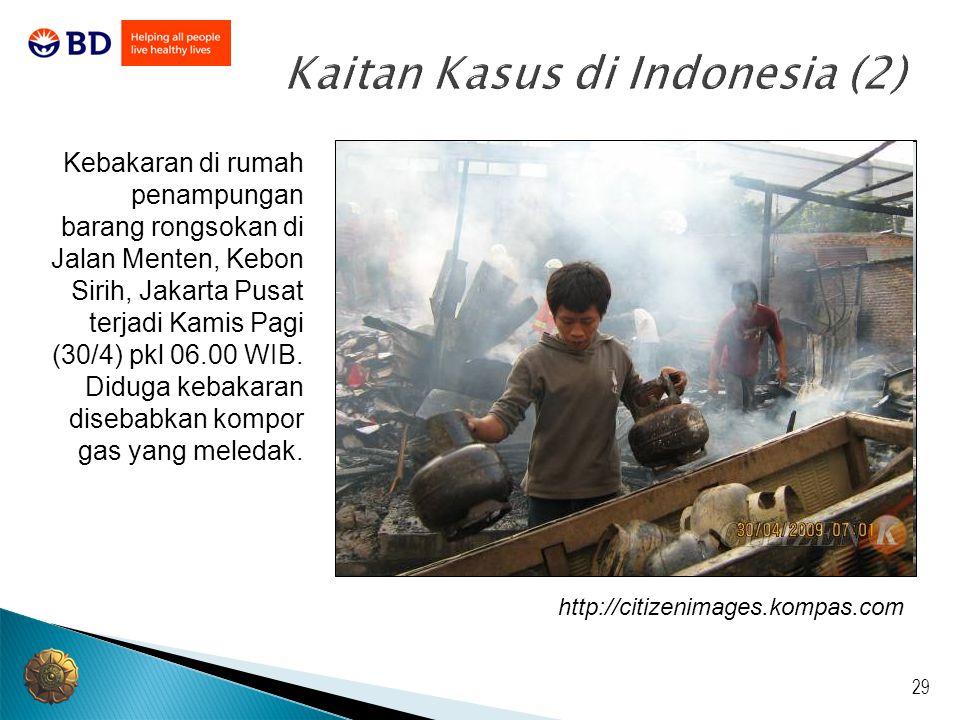 Kaitan Kasus di Indonesia (2)