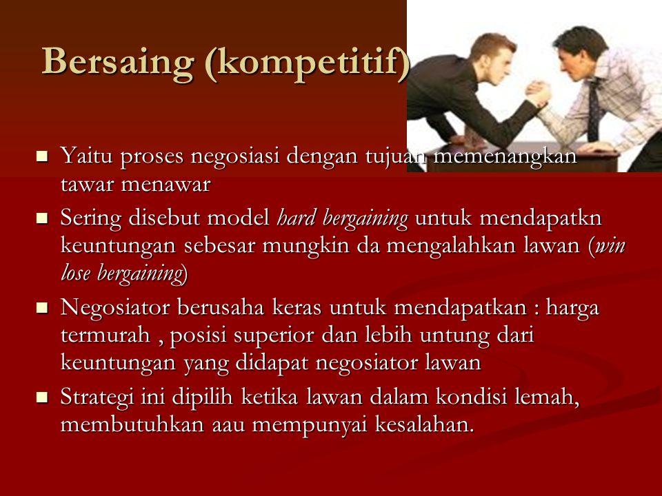 Bersaing (kompetitif)