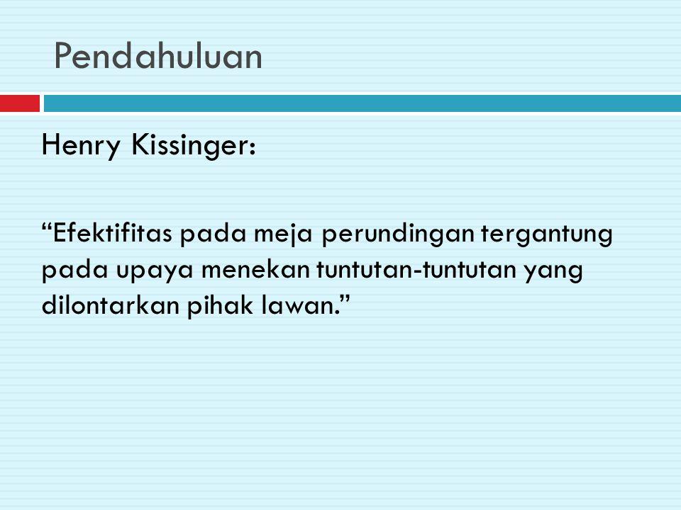 Pendahuluan Henry Kissinger:
