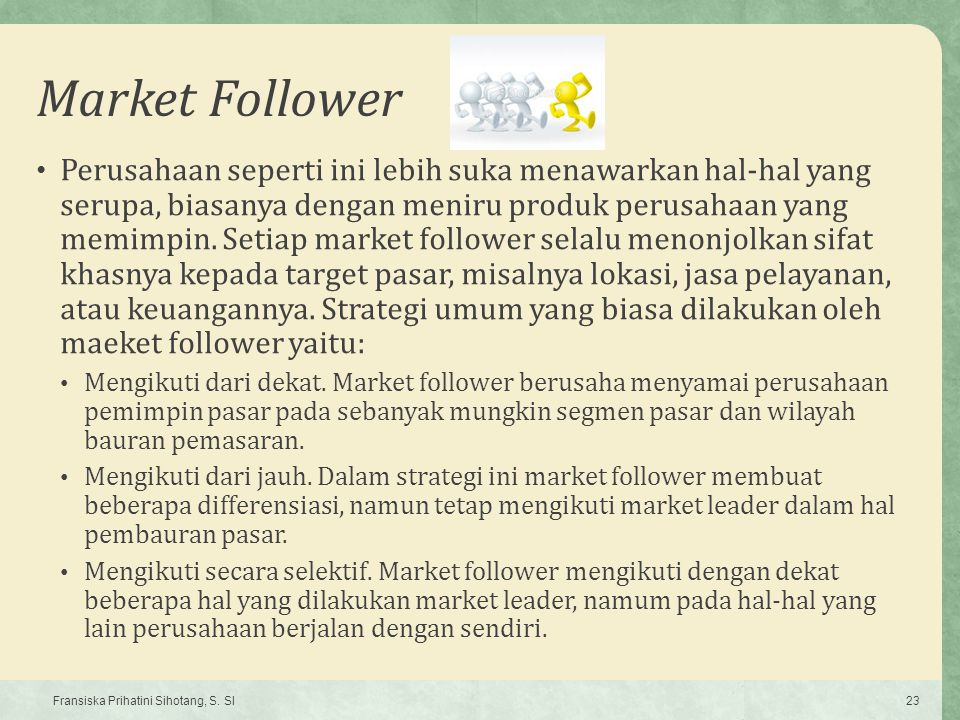 Market Follower