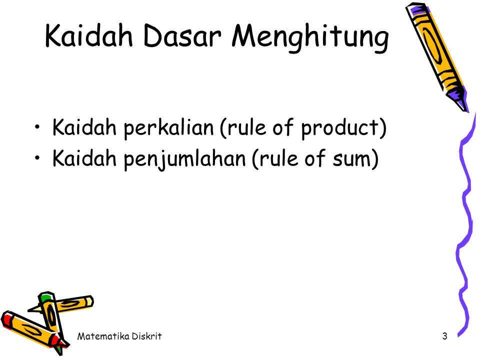 Kaidah Perkalian (Rule of Product)
