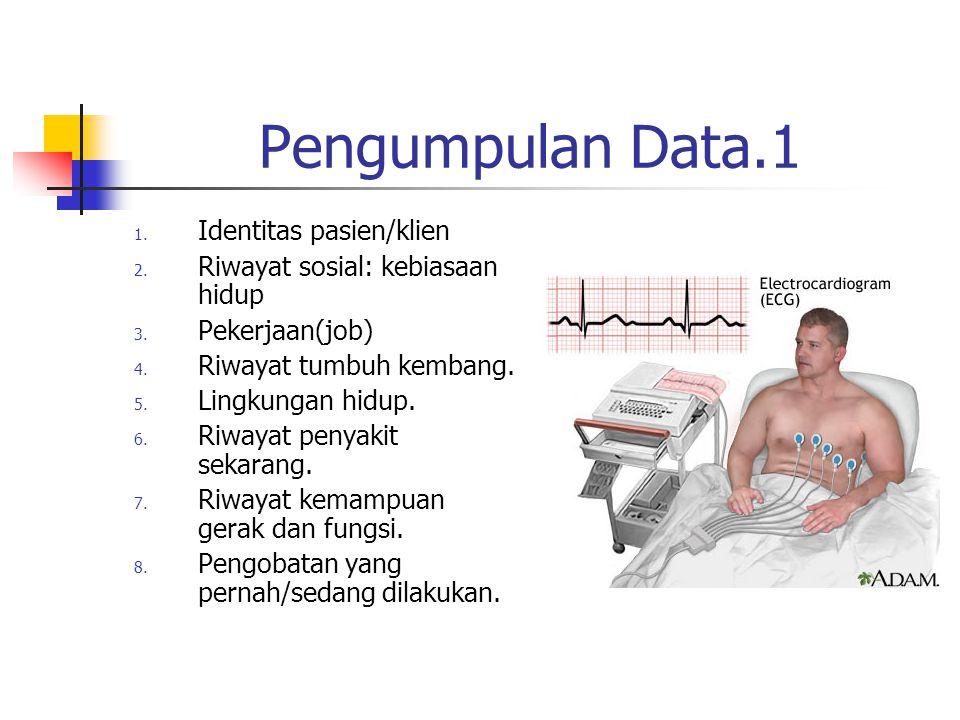 Pengumpulan Data.1 Identitas pasien/klien