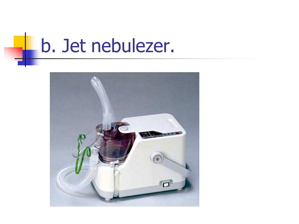 b. Jet nebulezer.