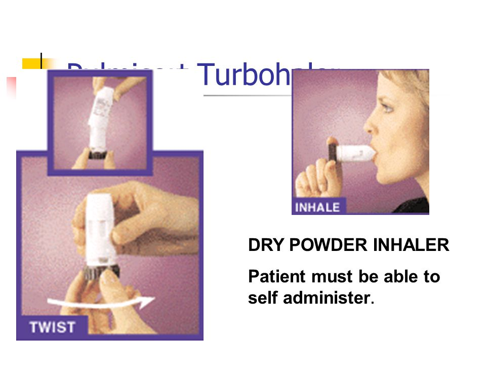 Pulmicort Turbohaler DRY POWDER INHALER