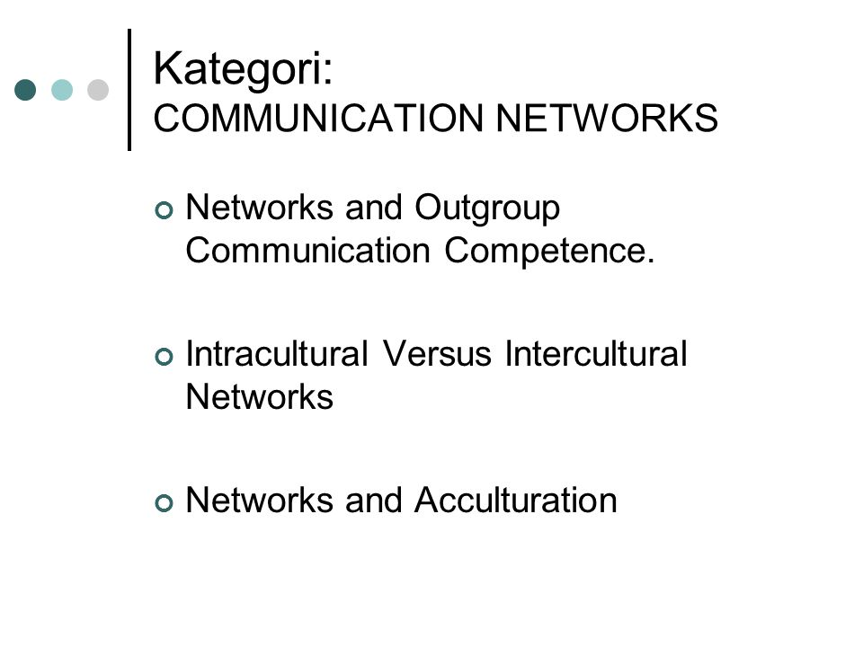 Kategori: COMMUNICATION NETWORKS