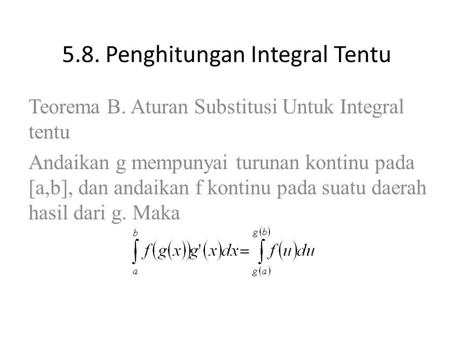 5.8. Penghitungan Integral Tentu