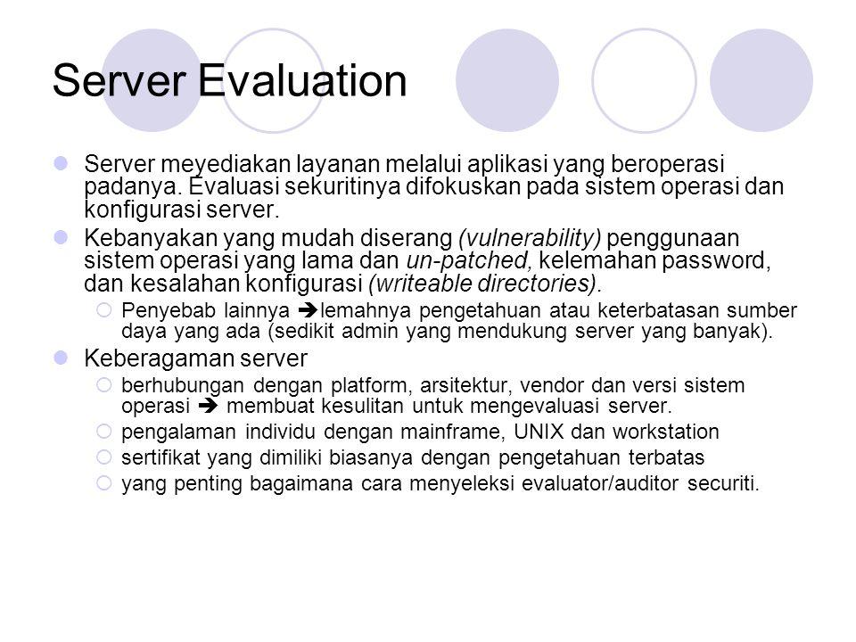 Server Evaluation