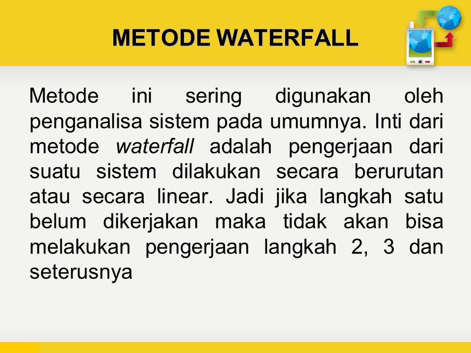 METODE WATERFALL