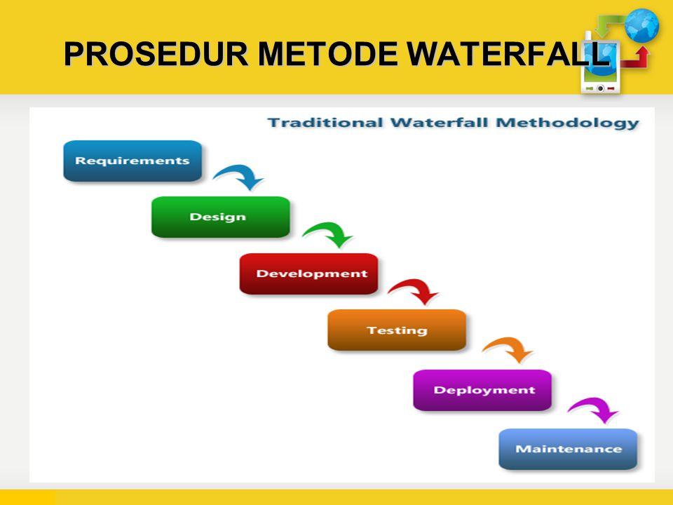 PROSEDUR METODE WATERFALL