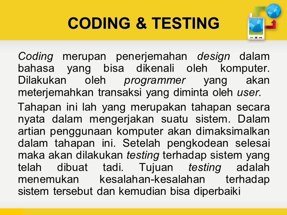 CODING & TESTING