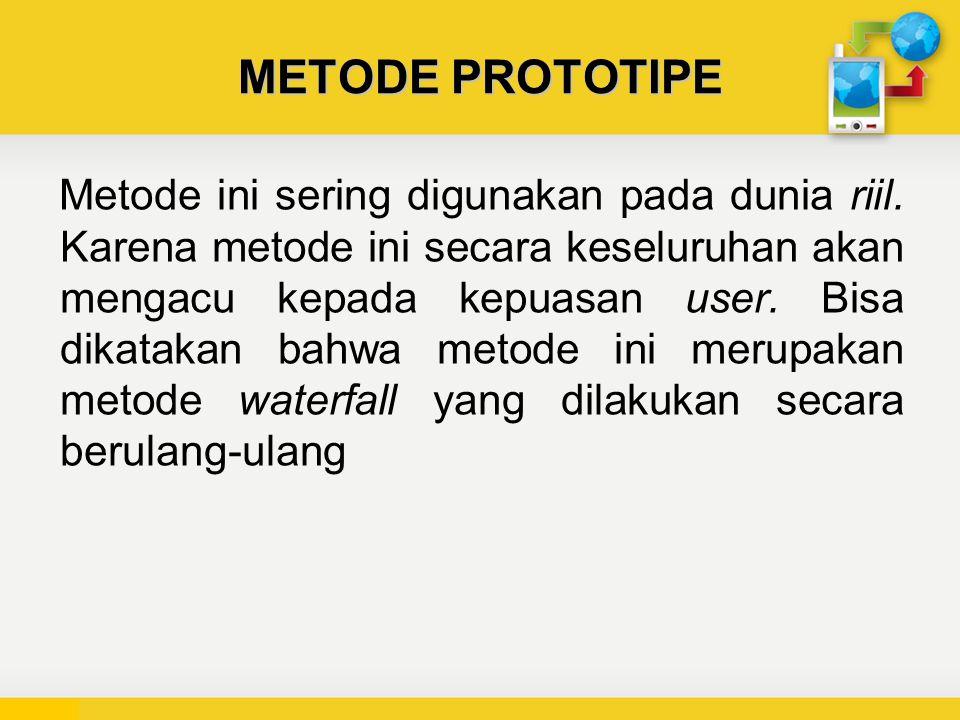 METODE PROTOTIPE