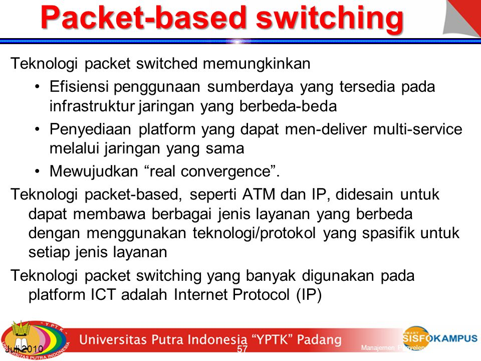 Packet-based switching