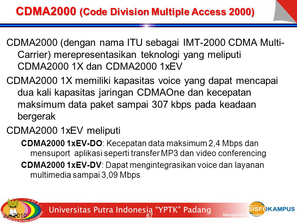 CDMA2000 (Code Division Multiple Access 2000)