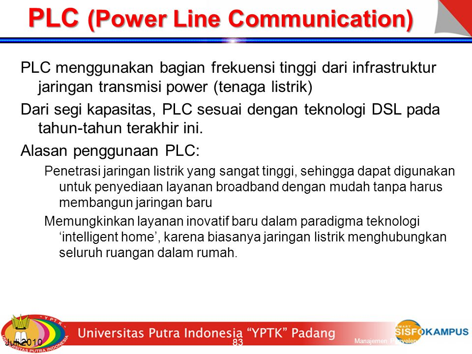 PLC (Power Line Communication)