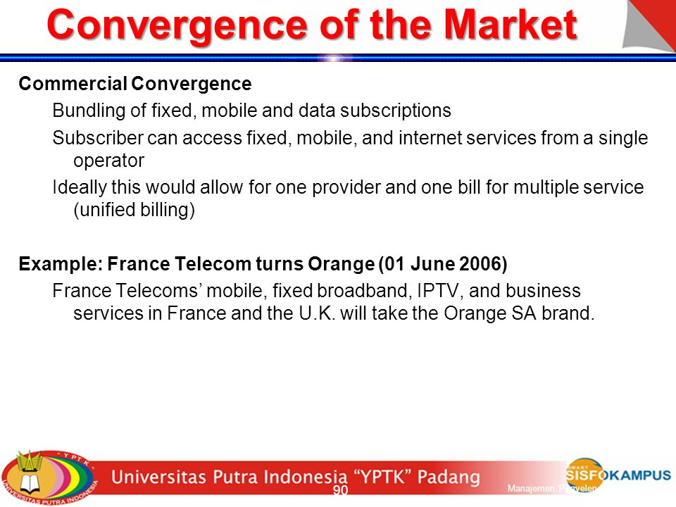 Convergence of the Market