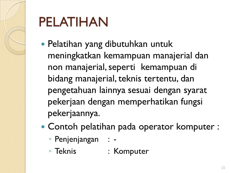 PELATIHAN