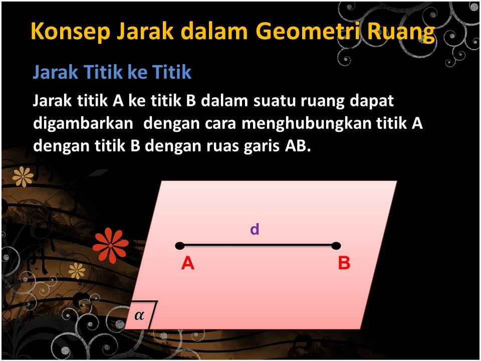 Konsep Jarak dalam Geometri Ruang