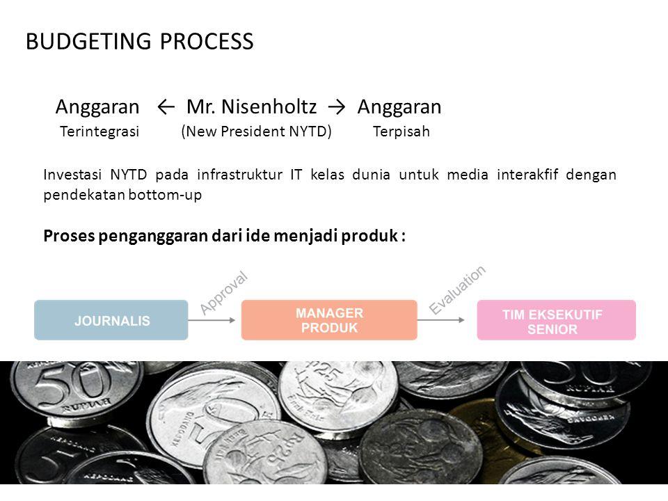 Anggaran ← Mr. Nisenholtz → Anggaran