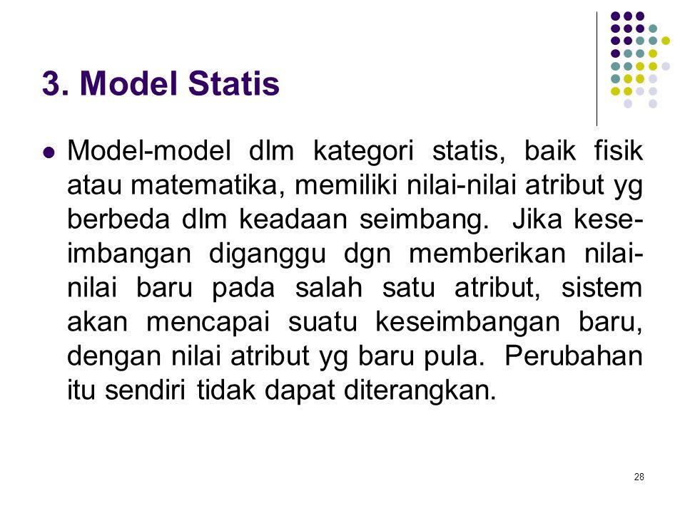 3. Model Statis
