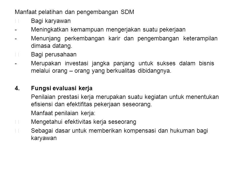 Manfaat pelatihan dan pengembangan SDM