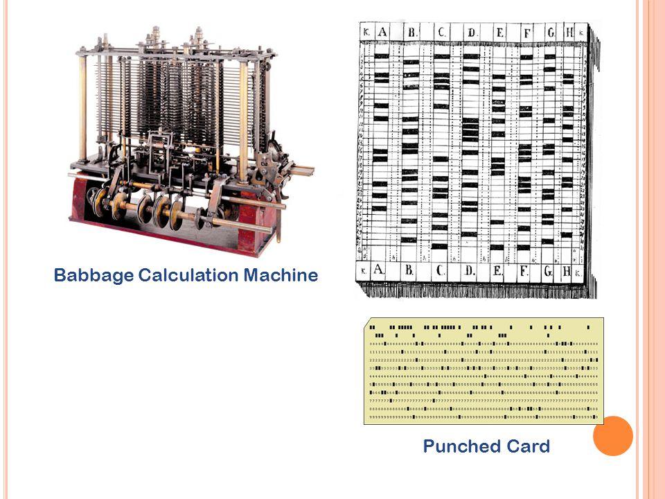 Babbage Calculation Machine