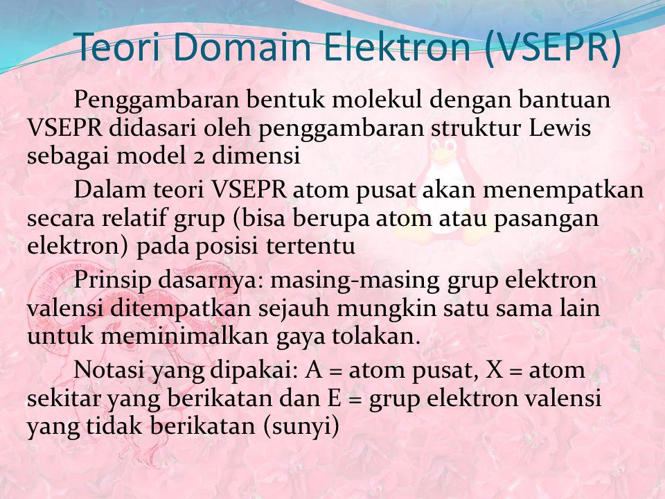Teori Domain Elektron (VSEPR)