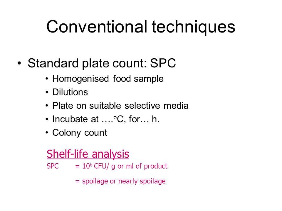 Conventional techniques
