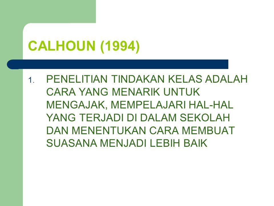CALHOUN (1994)