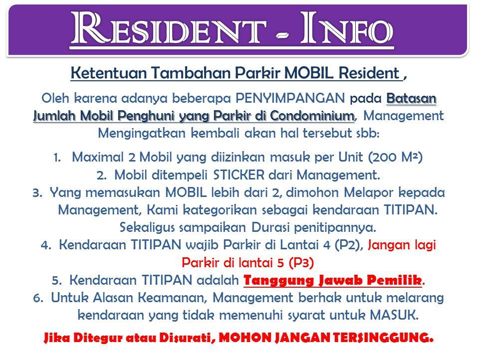 RESIDENT - INFO