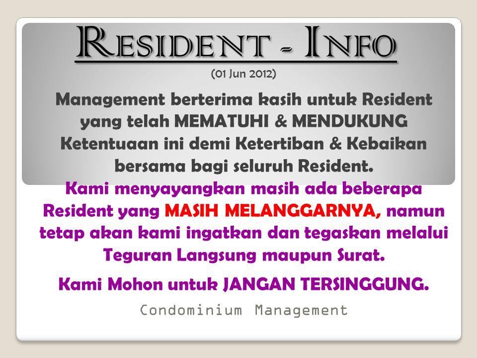 RESIDENT - INFO (01 Jun 2012)