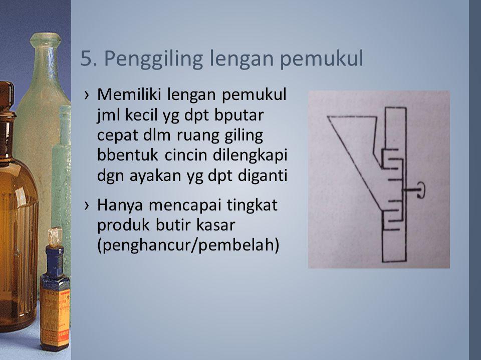 5. Penggiling lengan pemukul
