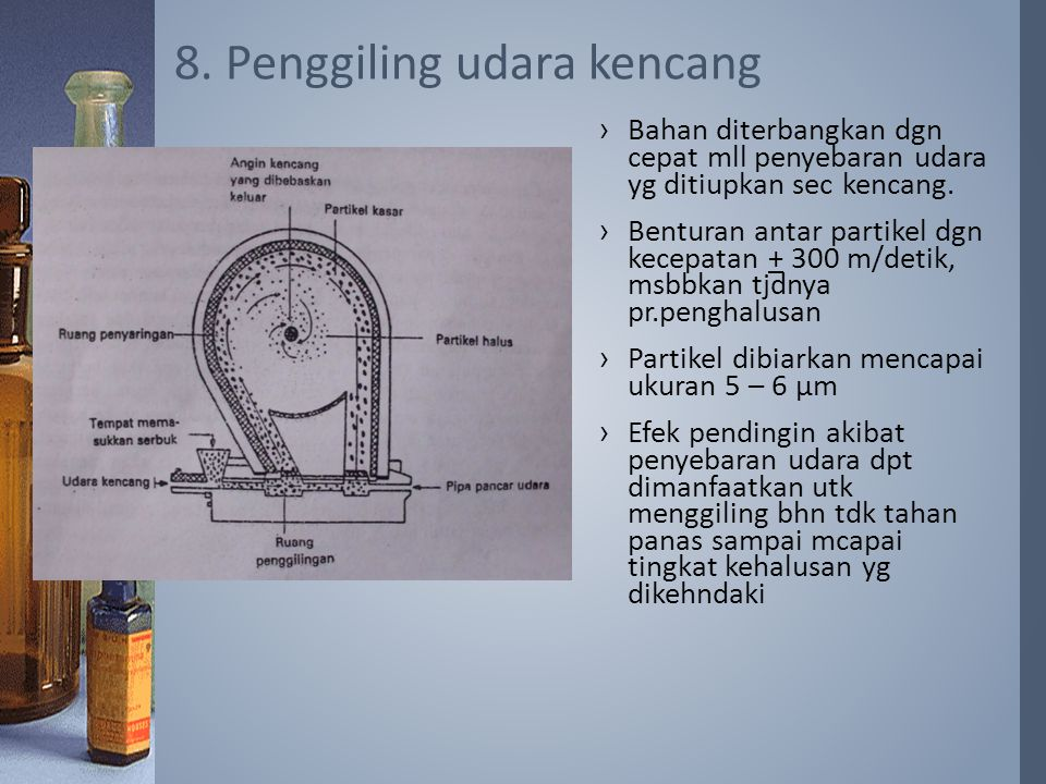 8. Penggiling udara kencang