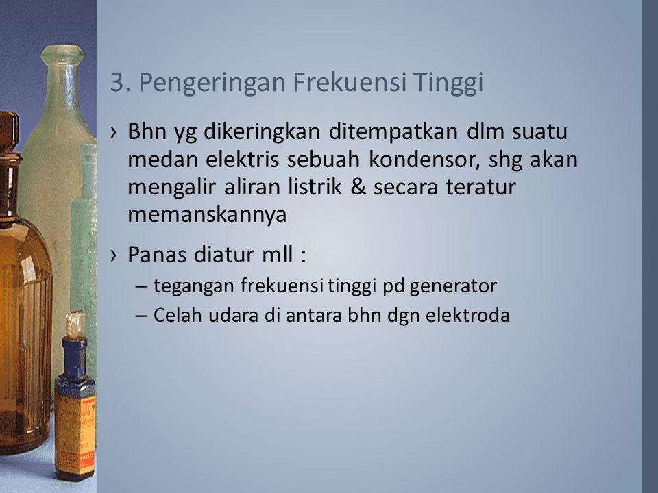 3. Pengeringan Frekuensi Tinggi