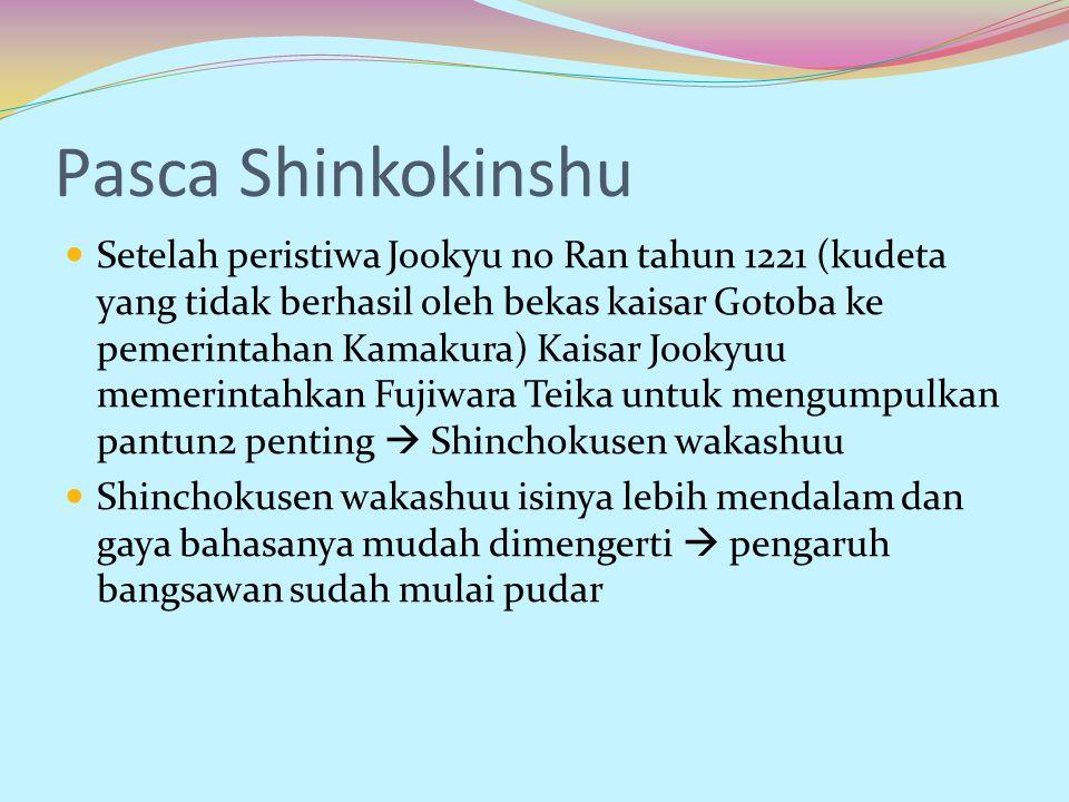 Pasca Shinkokinshu