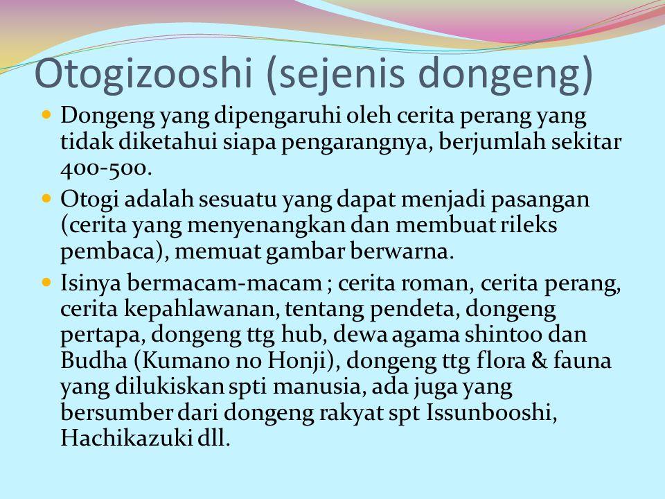 Otogizooshi (sejenis dongeng)