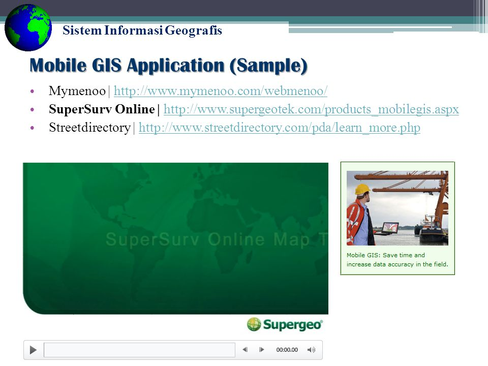 Mobile GIS Application (Sample)