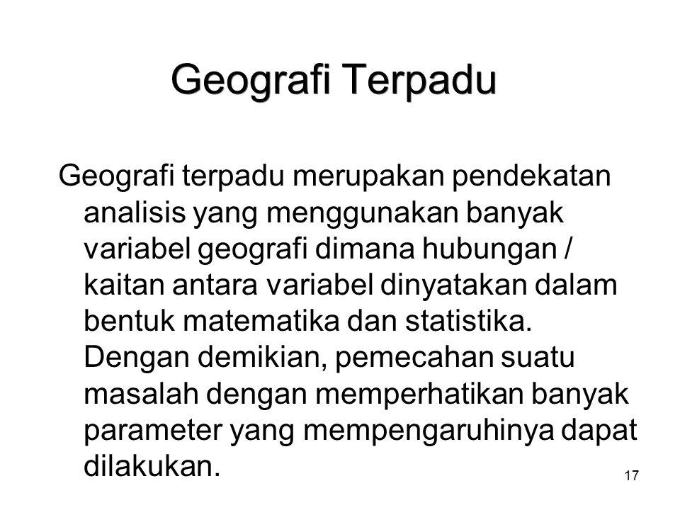 Geografi Terpadu