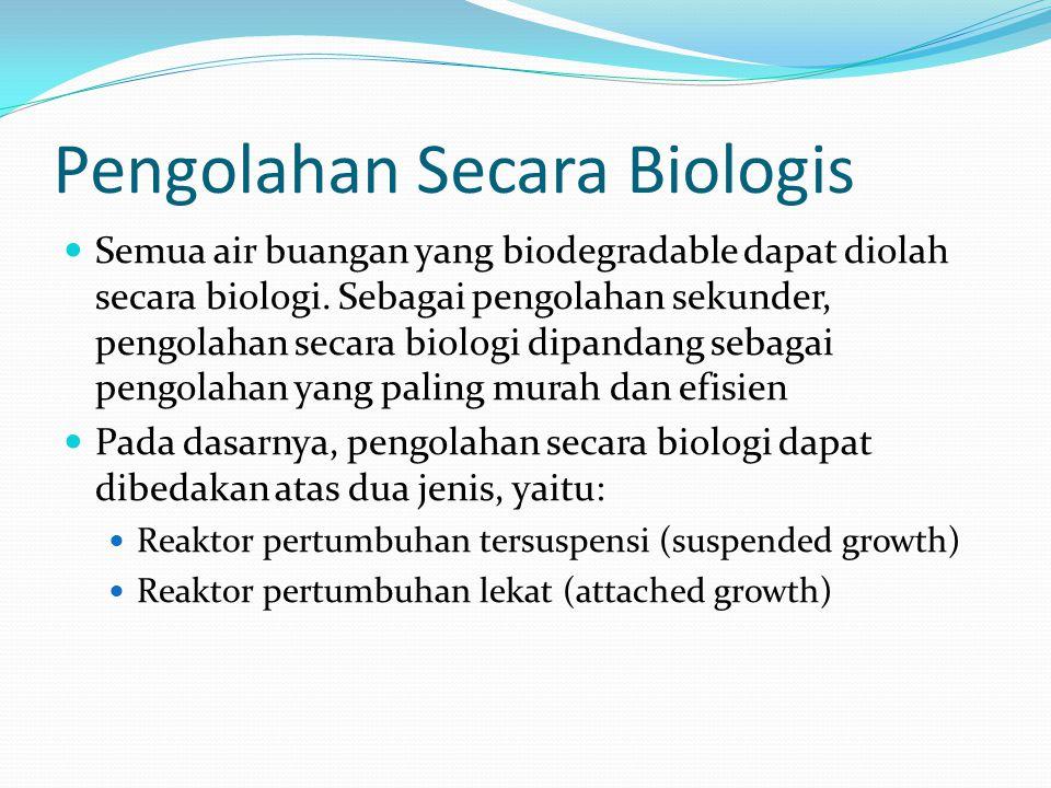 Pengolahan Secara Biologis