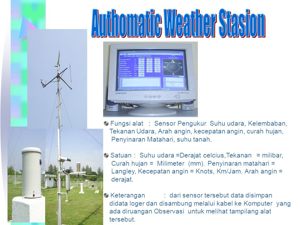 Authomatic Weather Stasion