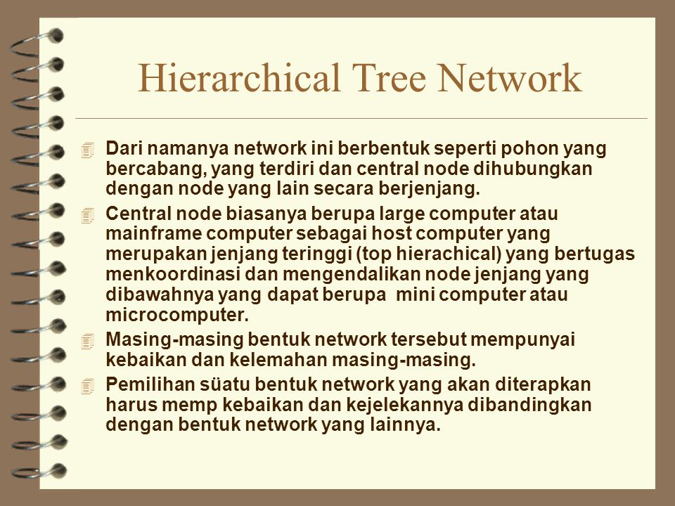 Hierarchical Tree Network