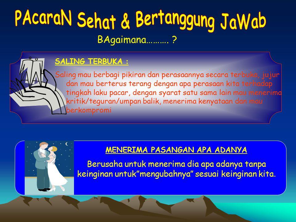 PAcaraN Sehat & Bertanggung JaWab