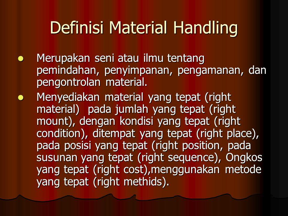 Definisi Material Handling