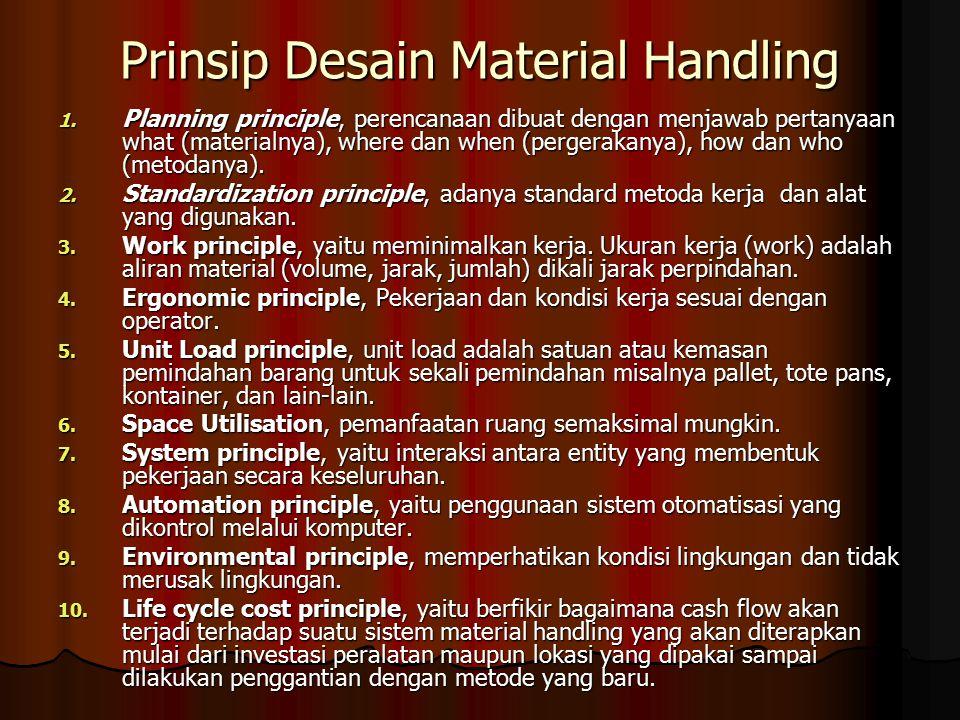Prinsip Desain Material Handling