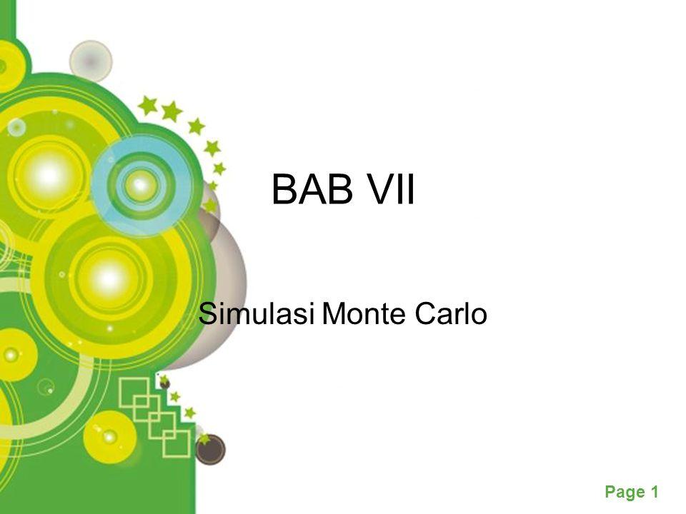 BAB VII Simulasi Monte Carlo